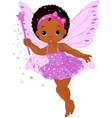 Cute little baby fairy vector