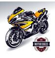 Sport motorbike vector