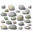 River stones vector