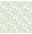 Vintage seamless puzzle pattern vector