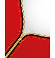 Zipper background vector