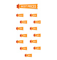 Nice gofer stickers icons discount vector