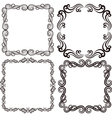Ornamental frames vector