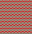 Chevron red and green holiday colors vector