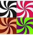 Twirled backgrounds vector