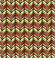 Chevron holiday ribbon paper pattern vector