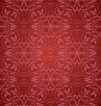 Abstract seamless pattern in red vector