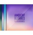 Set of blurred backgrounds concepts vector