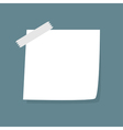 Adhesive notes with scotch vector