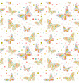 Butterfly seamless big vector
