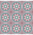 Geometric seamless ornament pattern vector