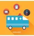 Medicine flat background concept vector