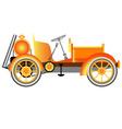 Vintage motor car vector