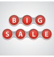 Big sale tag vector