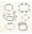 Doodle frames vector