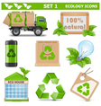 Ecology icons set 1 vector