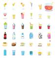 Mixed drinks vector