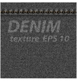 Denim fabric texture vector