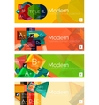 Collection of flat web infographic concepts and vector