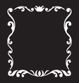Vintage frame design element vector