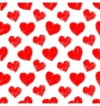 Seamless hearts pattern vector