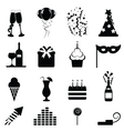 Party icon vector