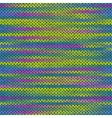 Style seamless knitted melange pattern vector