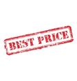 Best price rubber stamp vector