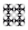Blackrose tile pattern vector