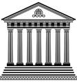 Greec temple2 vector
