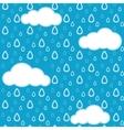 Rain pattern vector