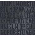 Vintage letterpress vector