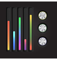 Abstract music equalizer eps 10 vector