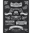 Vintage banners and ribbons vector