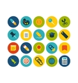 Flat icons set 2 vector