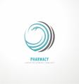 Snake logo design template vector
