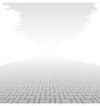 Concrete block pavement vector