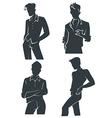 Handsome men vector