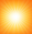 Sunburst poster with beams vector