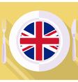 Kitchen of great britain vector
