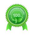 100 environment friendly vector