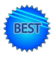 Big blue button labeled best vector