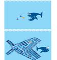 Small fish vector