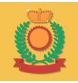Heraldic award vector