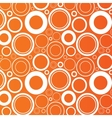 Circles background abstract round objects vector