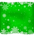 Green snow mesh background vector