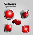 Network logo vector