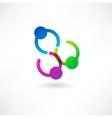 Successful deal icon vector