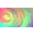 Vibrant polygonal background vector