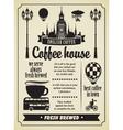 Coffee retro set 02 vector